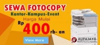 Pusat Rental Mesin Fotocopy Jakarta dan Bekasi