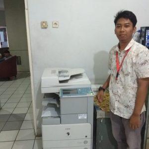 Sewa Mesin Fotocopy Canon iR 3225 Jakarta Bpk Tito