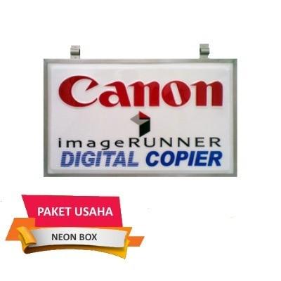 Paket Usaha Fotocopy-Neon Box