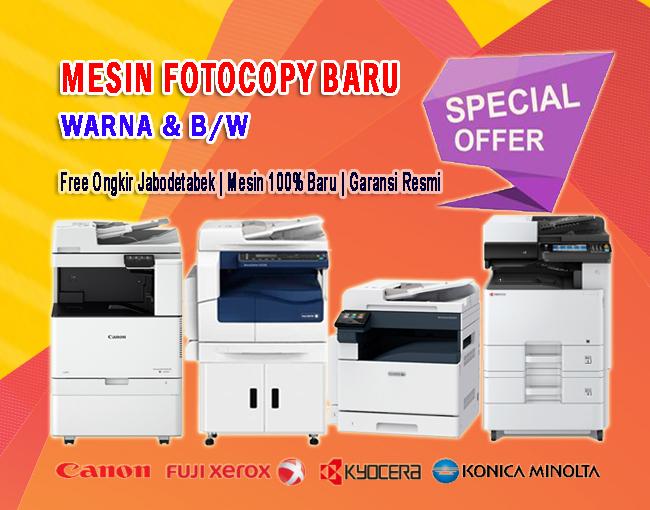 Dealer mesin fotocopy baru