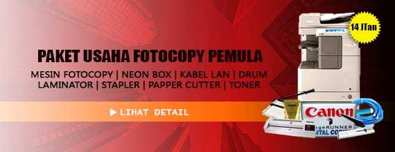 paket usaha fotocopy pro